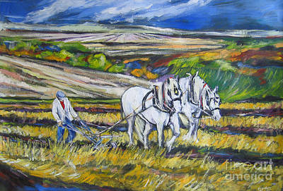 Painting - The Old Way by Debora Cardaci