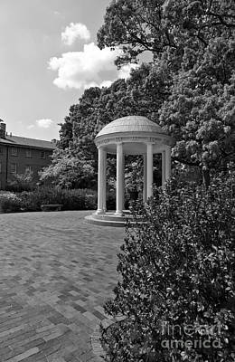 Photograph - The Old Well At Chapel Hill In Black And White by Jill Lang