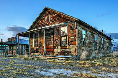 Photograph - The Old Wendel General Store by James Eddy