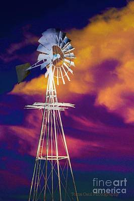 Photograph - The Old Windmill  by Toma Caul