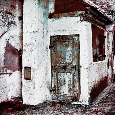 Digital Art - The Old Witch House by Jutta Maria Pusl