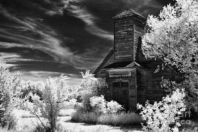 The Old Wood Church  Art Print by Jeff Holbrook
