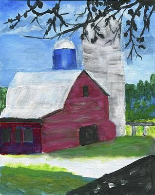 Painting - The Olde Barn by Joe Hagarty