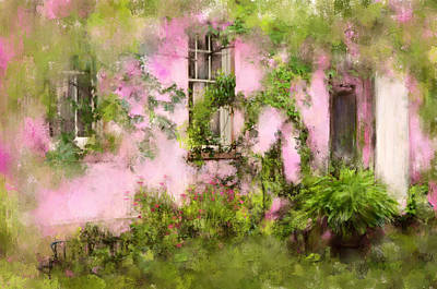 Photograph - The Olde Pink House In Savannah Georgia by Carla Parris