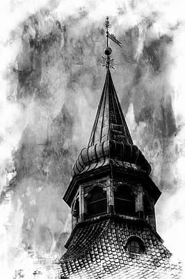 Photograph - The Olde Tower by Karen McKenzie McAdoo
