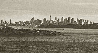 Photograph - The Olden Day Touch On City Of Sydney by Miroslava Jurcik