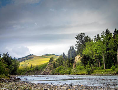 Photograph - The Oldman River by Philip Rispin