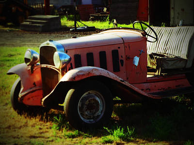 Photograph - The Oldtimer by Jacqueline  DiAnne Wasson
