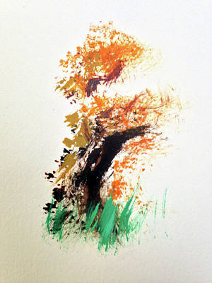 Painting - The Ole Oak Tree by Ransom Murray