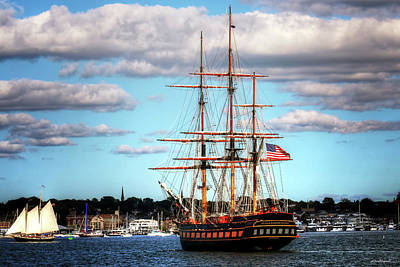 Tall Ship The Oliver Hazard Perry Art Print by Tom Prendergast