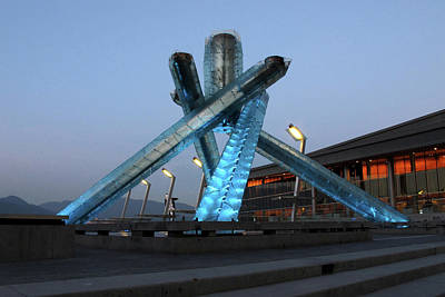 Photograph - The Olympic Cauldron - 365-227 by Inge Riis McDonald