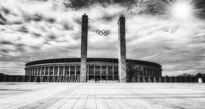 Photograph - The Olympic Stadium Of Berlin by Pixabay