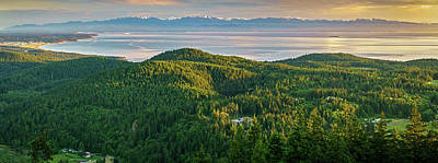 Photograph - The Olympics From Mt Erie by Ken Stanback