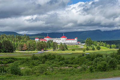 Photograph - The Omni Mount Washington Resort 2 by Brian MacLean