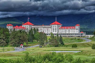 Photograph - The Omni Mount Washington Resort 3 by Brian MacLean