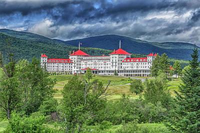 Photograph - The Omni Mount Washington Resort 4 by Brian MacLean