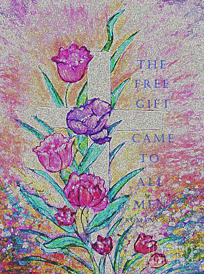 Painting - The Free Gift by Hazel Holland