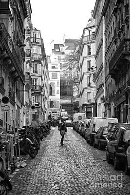The One In Paris Art Print by John Rizzuto