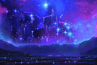 Digital Art - The One by Patrick Turner