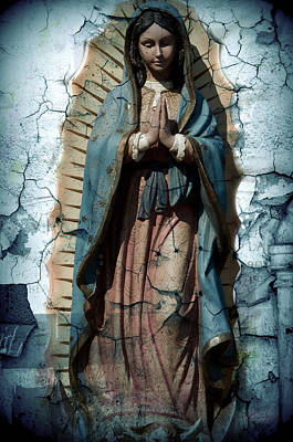 Our Lady Of Guadalupe Photograph - The One Who Crushes The Serpent  by Melissa Wyatt