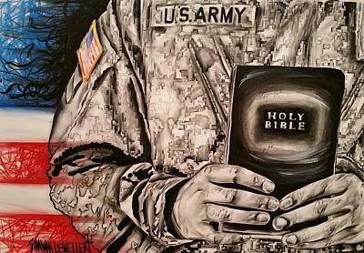 The One Who Protects The Soldier Original by Shawna Lewellen