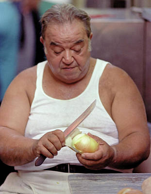 Photograph - The Onion Man by Frank DiMarco