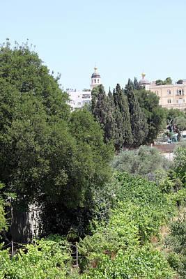 The Only Church In Hebron Original by Munir Alawi