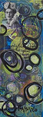 Painting - The Only Thing I Know by Laurie Maves ART
