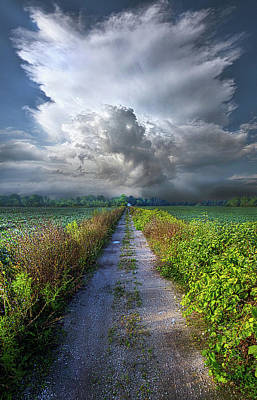 Unity Photograph - The Only Way In by Phil Koch
