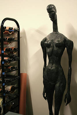 Photograph - The Only Women I Understand Are Made Of Bronze by Ric Bascobert