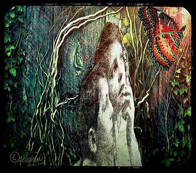 Digital Art - The Only Word... by Delight Worthyn