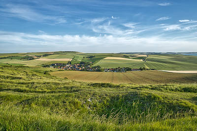 Photograph - The Opal Coast In Northern France by Jeremy Lavender Photography