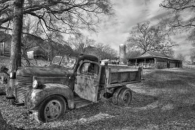 Old Home Place Photograph - The Open Door Boswell Farm 1947 Dodge Dumb Truck by Reid Callaway