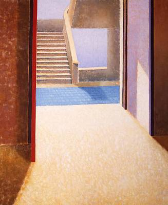The Open Door Art Print by Gloria Cigolini-DePietro