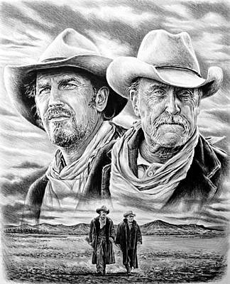 Open Range Drawing - The Open Range by Andrew Read