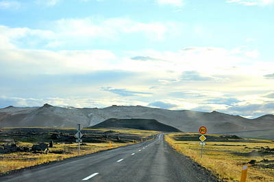 Photograph - The Open Road by Ambika Jhunjhunwala