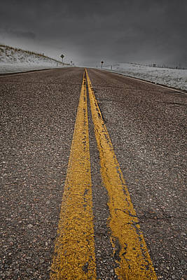 Design Turnpike Books Royalty Free Images - The Open Road Royalty-Free Image by Lori Werhane