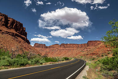 Photograph - The Open Road - Utah by Peter Tellone