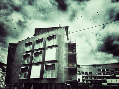 Photograph - The Opposite Building by Siegfried Ferlin