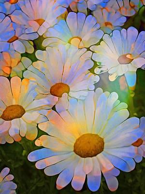 Digital Art - The Optimistic Flowers by Tara Turner