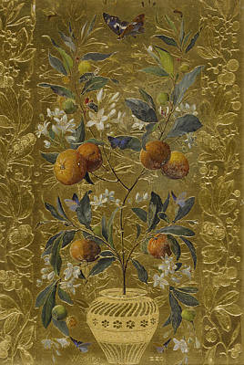 Painting - The Orange Tree by William Jabez Muckley