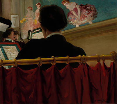 Orchestra Pit Painting - The Orchestra Pit - Old Proctor's Fifth Avenue by Mountain Dreams