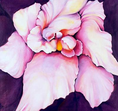 Painting - The Orchid by Jordana Sands