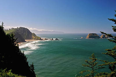 Photograph - The Oregon Coast by Albert Seger