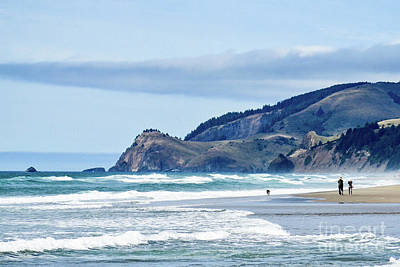 Photograph - The Oregon Coast by Arius Holifield