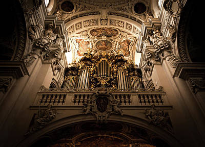 Photograph - The Organ by Andrew Matwijec