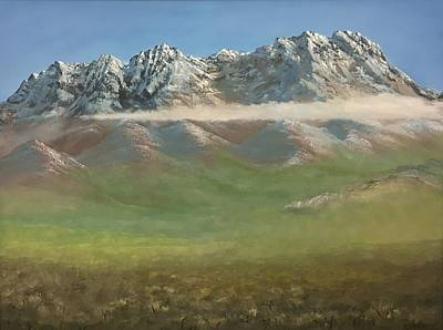 Las Cruces Painting - The Organ Mountains by Jeffrey Sanchez