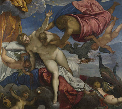 Painting - The Origin Of The Milky Way by Tintoretto