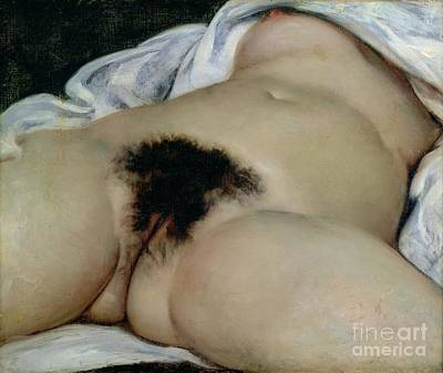 The Origin Of The World Art Print by Gustave Courbet