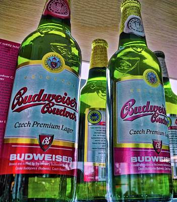 Photograph - The Original Budweiser Beer by Kirsten Giving